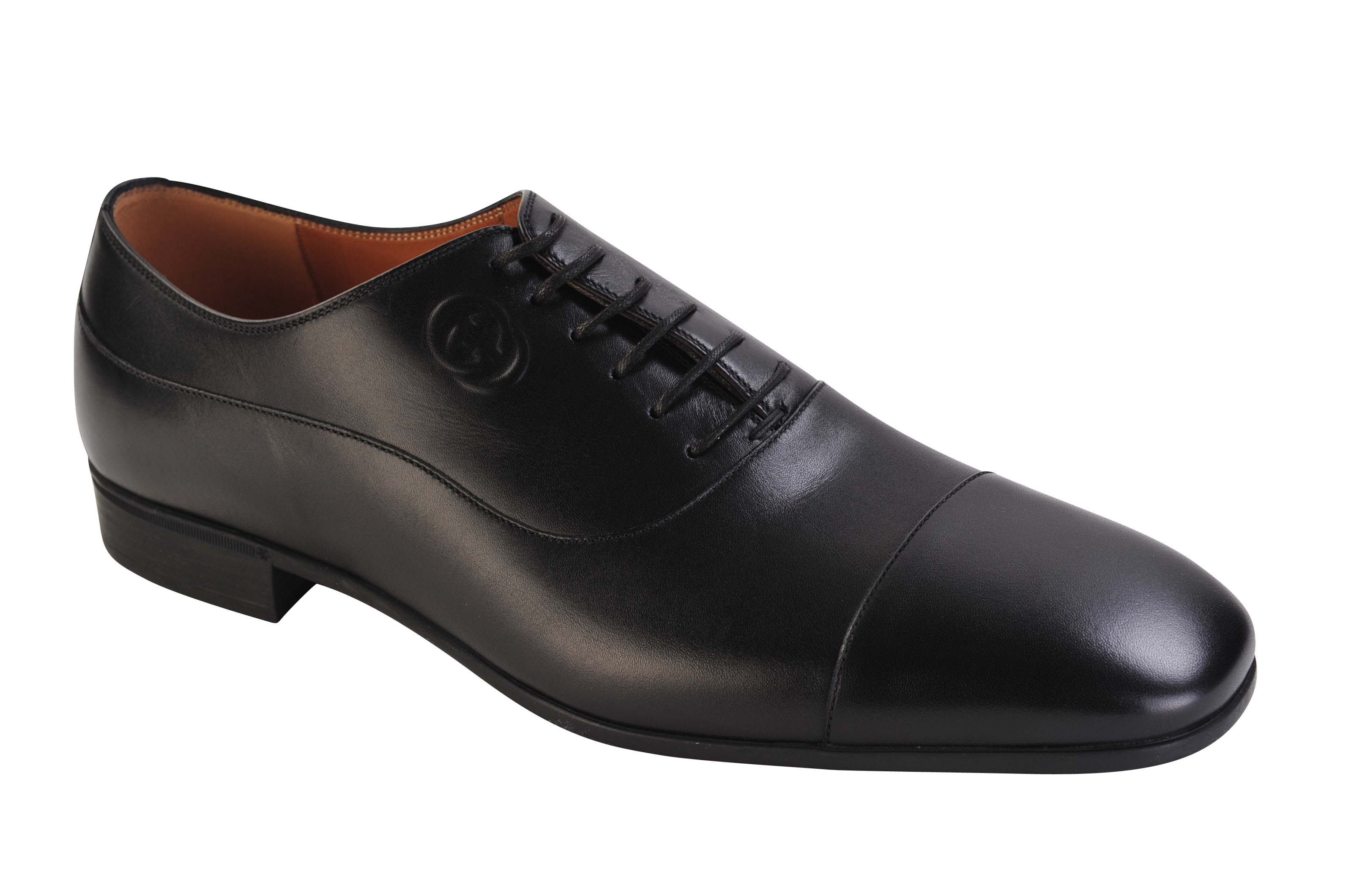 gucci shoes smooth leather 41 oxford black ebay