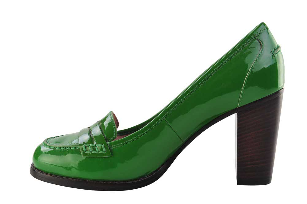 marc by marc jacobs shoes women patent leather 36 5 closed toe green ebay. Black Bedroom Furniture Sets. Home Design Ideas