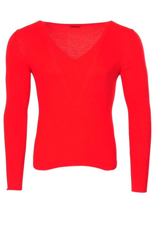 hugo boss pullover men 39 s xl it red virgin wool plain. Black Bedroom Furniture Sets. Home Design Ideas