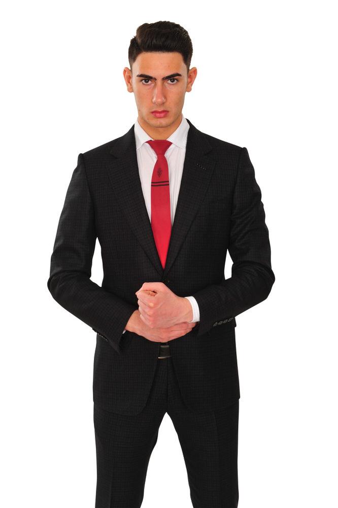 tom ford suit men 39 s 48r us size 38 black regular. Black Bedroom Furniture Sets. Home Design Ideas