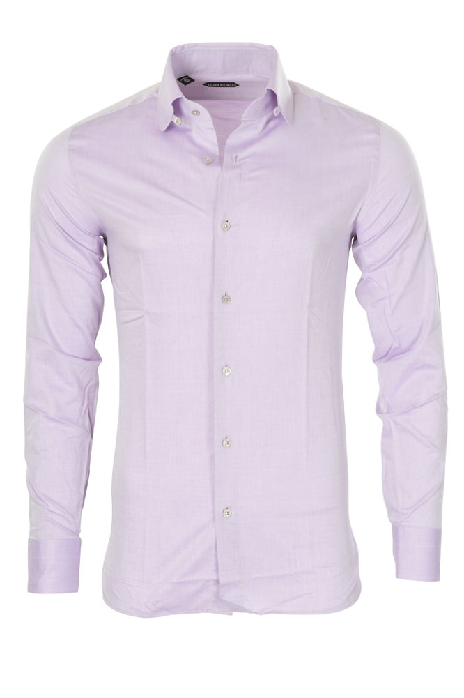 tom ford shirt men 39 s 39 purple cotton plain ebay. Black Bedroom Furniture Sets. Home Design Ideas