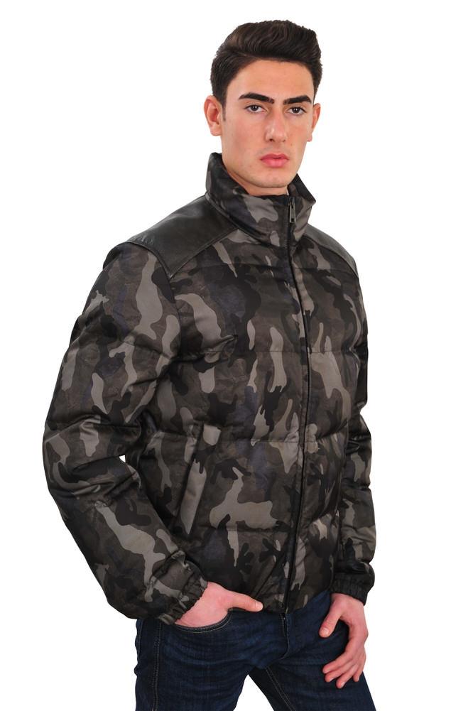 prada jacke herren 52 gruen polyamide camouflage ebay. Black Bedroom Furniture Sets. Home Design Ideas