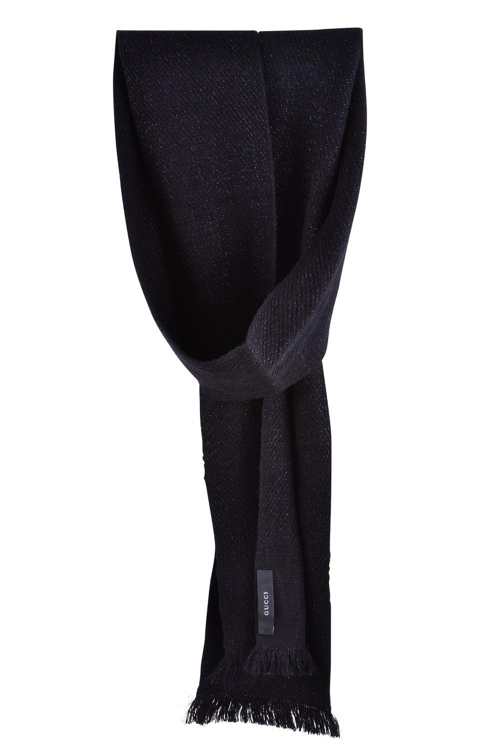 gucci scarf wool 216 cm x 13 5 cm ebay. Black Bedroom Furniture Sets. Home Design Ideas
