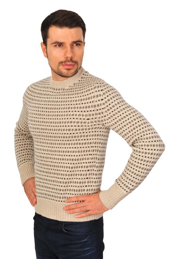 tom ford sweater mens 48 beige wool fairisle ebay. Black Bedroom Furniture Sets. Home Design Ideas