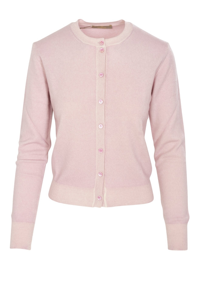 cruciani cardigan damen 44 it rosa kaschmir einfarbig ebay. Black Bedroom Furniture Sets. Home Design Ideas