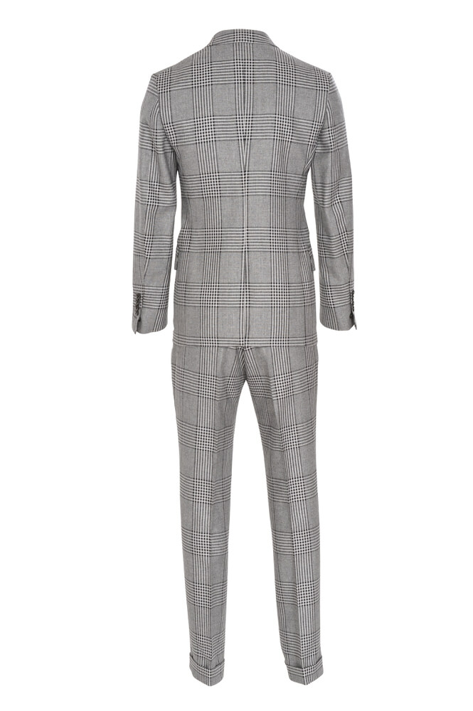 tom ford suit men 39 s 46 us size 36 gray plain ebay. Black Bedroom Furniture Sets. Home Design Ideas