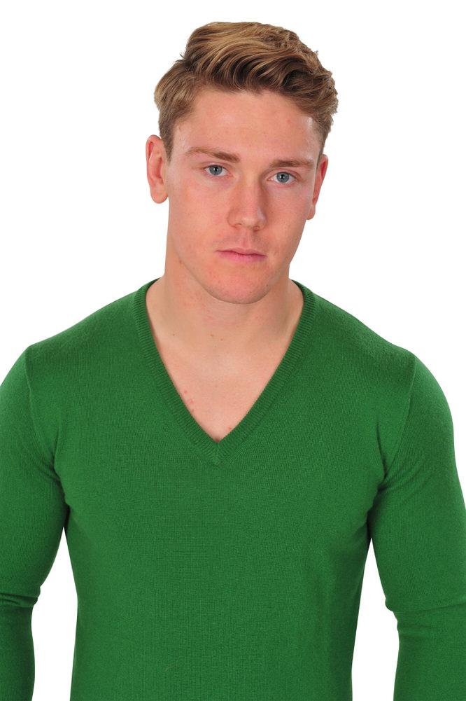 kangra pullover herren 48 gruen kaschmir einfarbig ebay. Black Bedroom Furniture Sets. Home Design Ideas