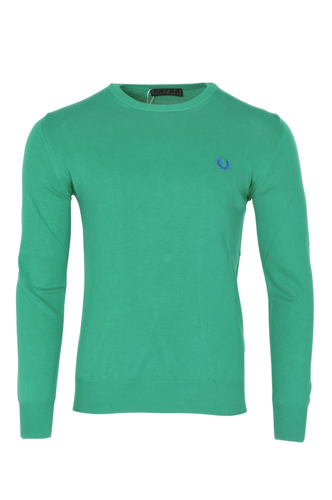 fred perry pullover men 39 s xxl green wool knitted ebay. Black Bedroom Furniture Sets. Home Design Ideas