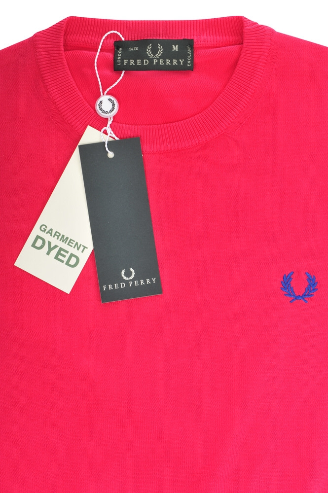 fred perry pullover men 39 s xxxl pink wool knitted ebay. Black Bedroom Furniture Sets. Home Design Ideas
