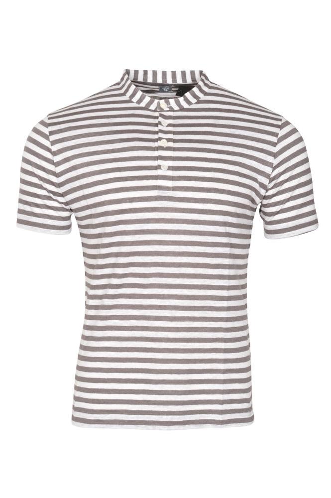 eleventy t shirt homme m gris lin rayures ebay. Black Bedroom Furniture Sets. Home Design Ideas