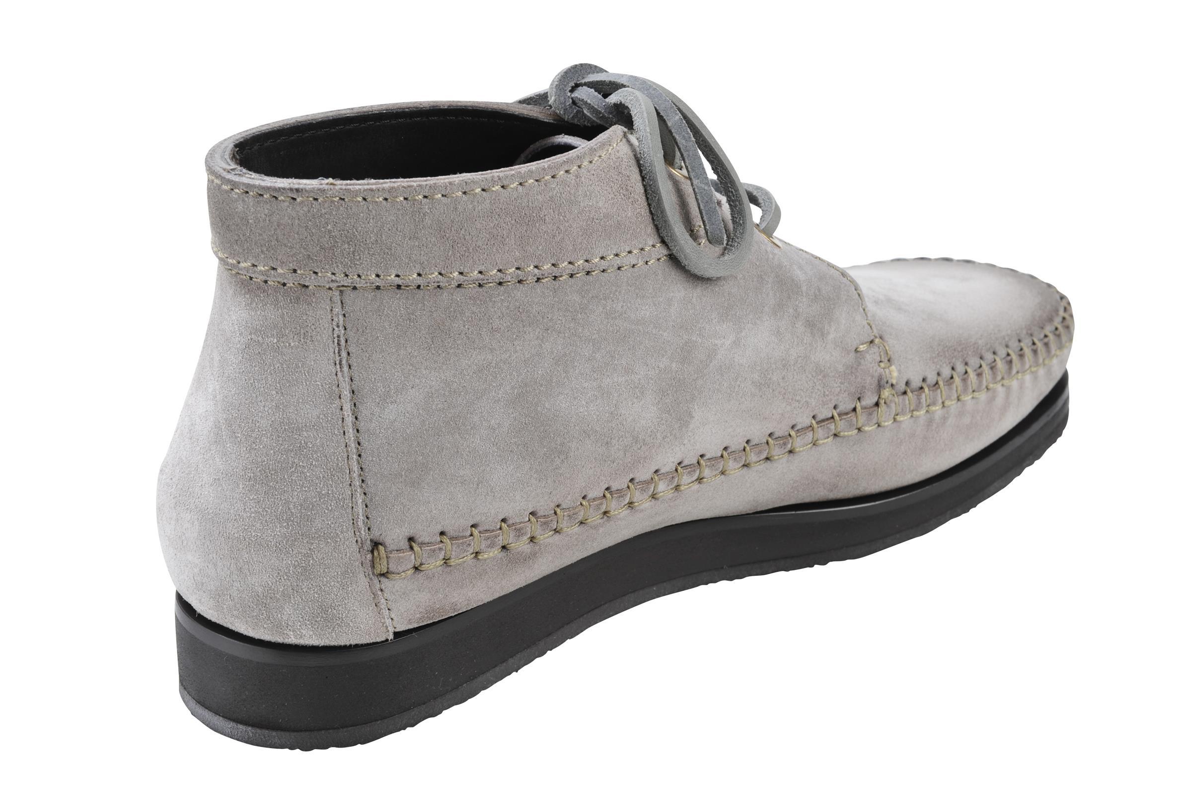 12cb50239fc6a3 Tom Ford IT Schuhe Herren Wildleder 43 Stiefel Boots Grau